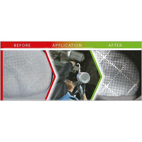 Filtr DPF przed czyszczeniem i poczyszczeniu