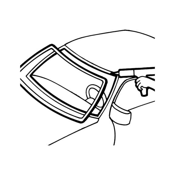 Klej do szyb samochodowych TUNSEAL 2069 Innovation - aplikacja