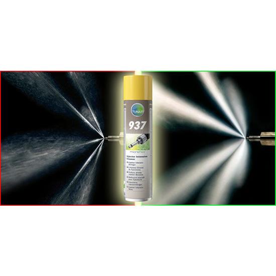 Preparat do czyszczenia wtrysków Benzyna microflex® 937 - przed i po aplikacji