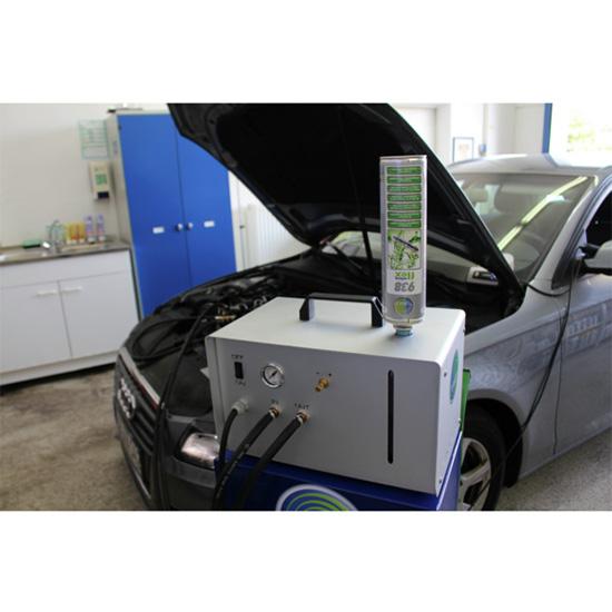 Preparat do czyszczenia wtrysków Diesel microflex® 938 - 500ML - aplikacja